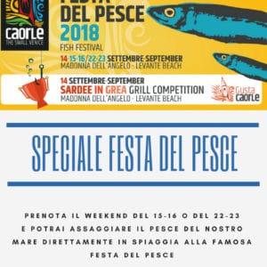 FESTA DEL PESCE CAORLE 2018